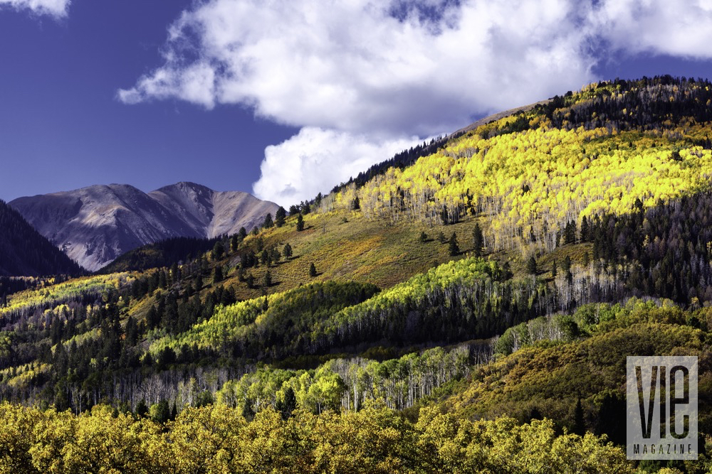 The Scenic Green Mountain Views At Gateway Canyons Resort And Spa