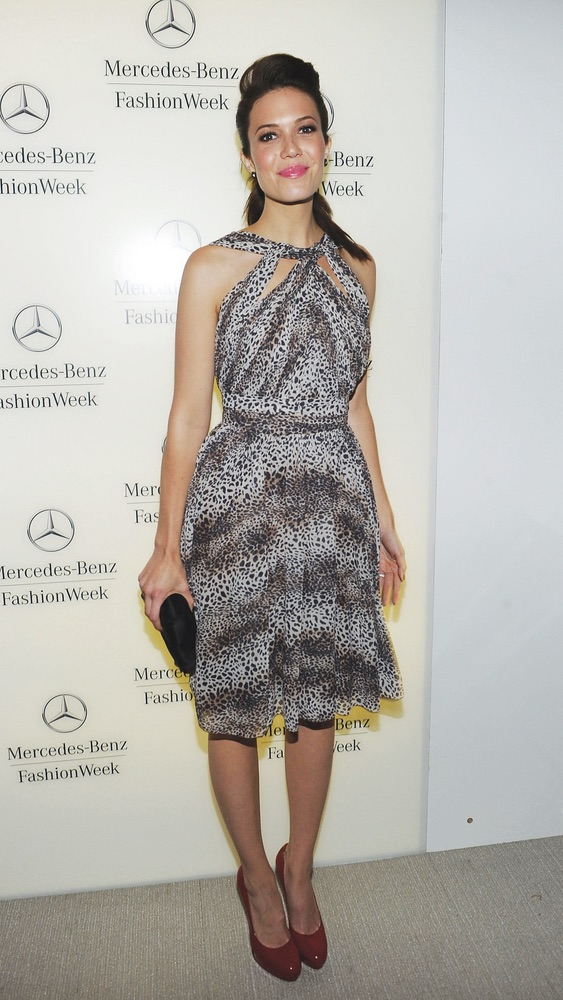 Mercedes-Benz Fashion Week Spring 2012 - Official Coverage - People and Atmosphere Day 3, Mandy Moore, fashion,