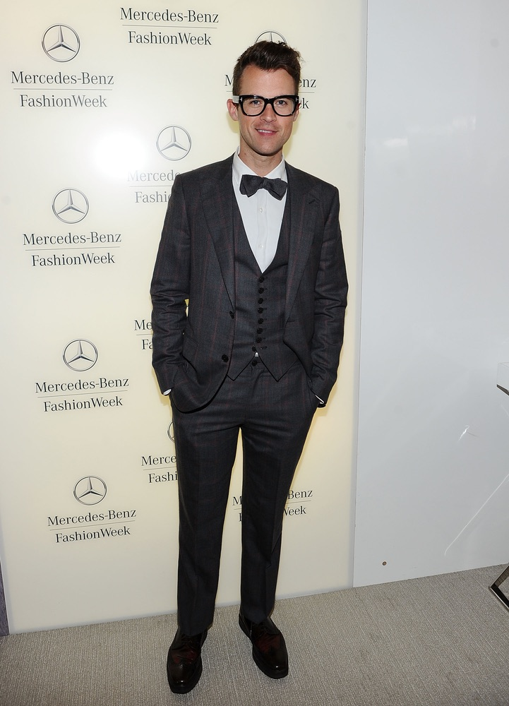 Mercedes-Benz Fashion Week Spring 2012 - Official Coverage - People and Atmosphere Day 4, Brad Goreski