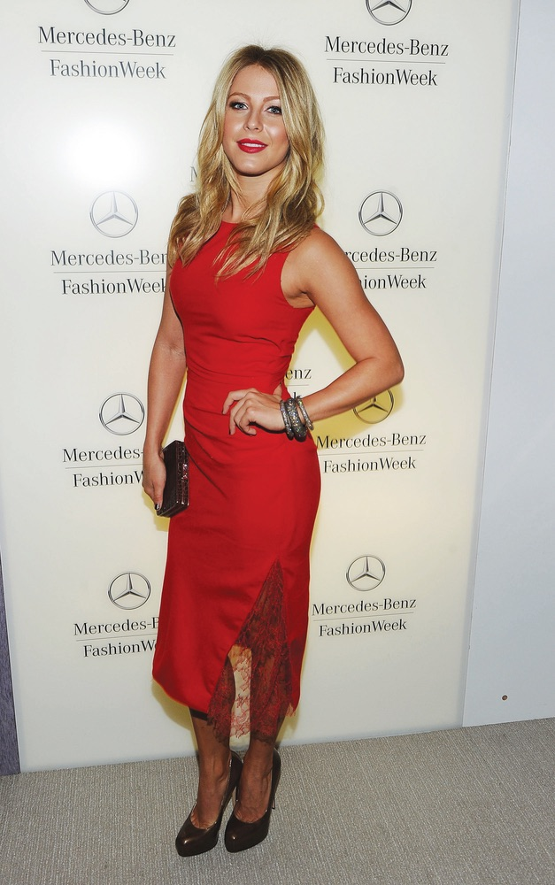 Mercedes-Benz Fashion Week Spring 2012 - Official Coverage - People and Atmosphere Day 3, Julianne Hough