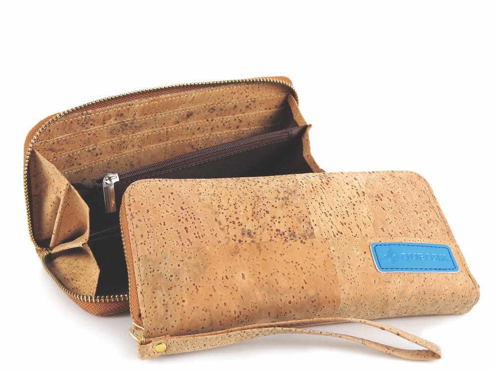 queork cork wallet wristlet
