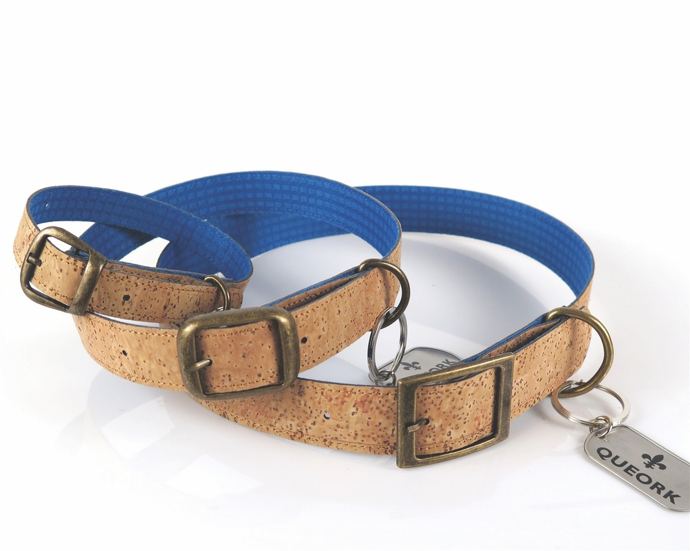 cork queork dog collar