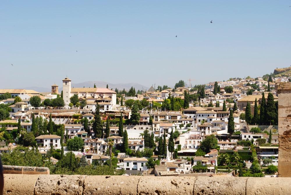 grenada la alhambra albacin spain