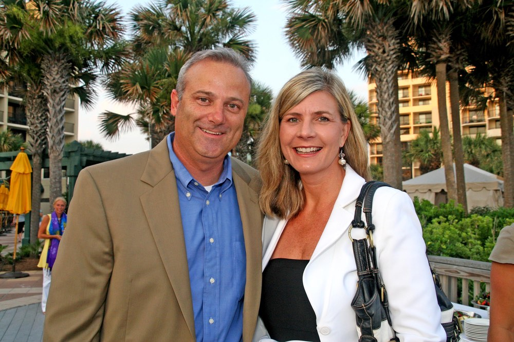 Mel & Mona Ponder at the anniversary celebration vie magazine hilton sandestin beach golf resort