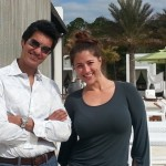 Alys Beach's Martin and Alyssa working hard at Caliza Pool & Restaurant