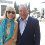 VIE Publisher Lisa Burwell with Chef Emeril Lagasse