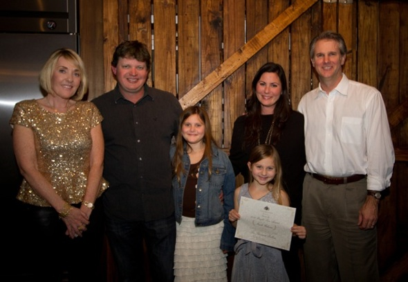 VIE's Lisa (Left) and Jerry Burwell (Right) with Chip, Laurel, Laine, and Nicole Rockhill