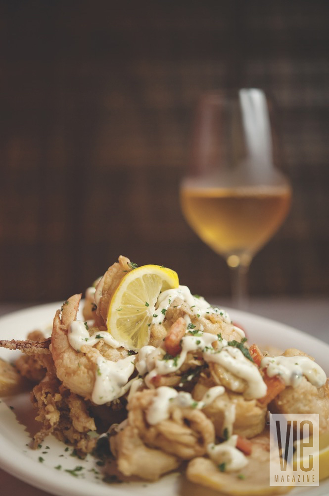 Calamari dish from Borago
