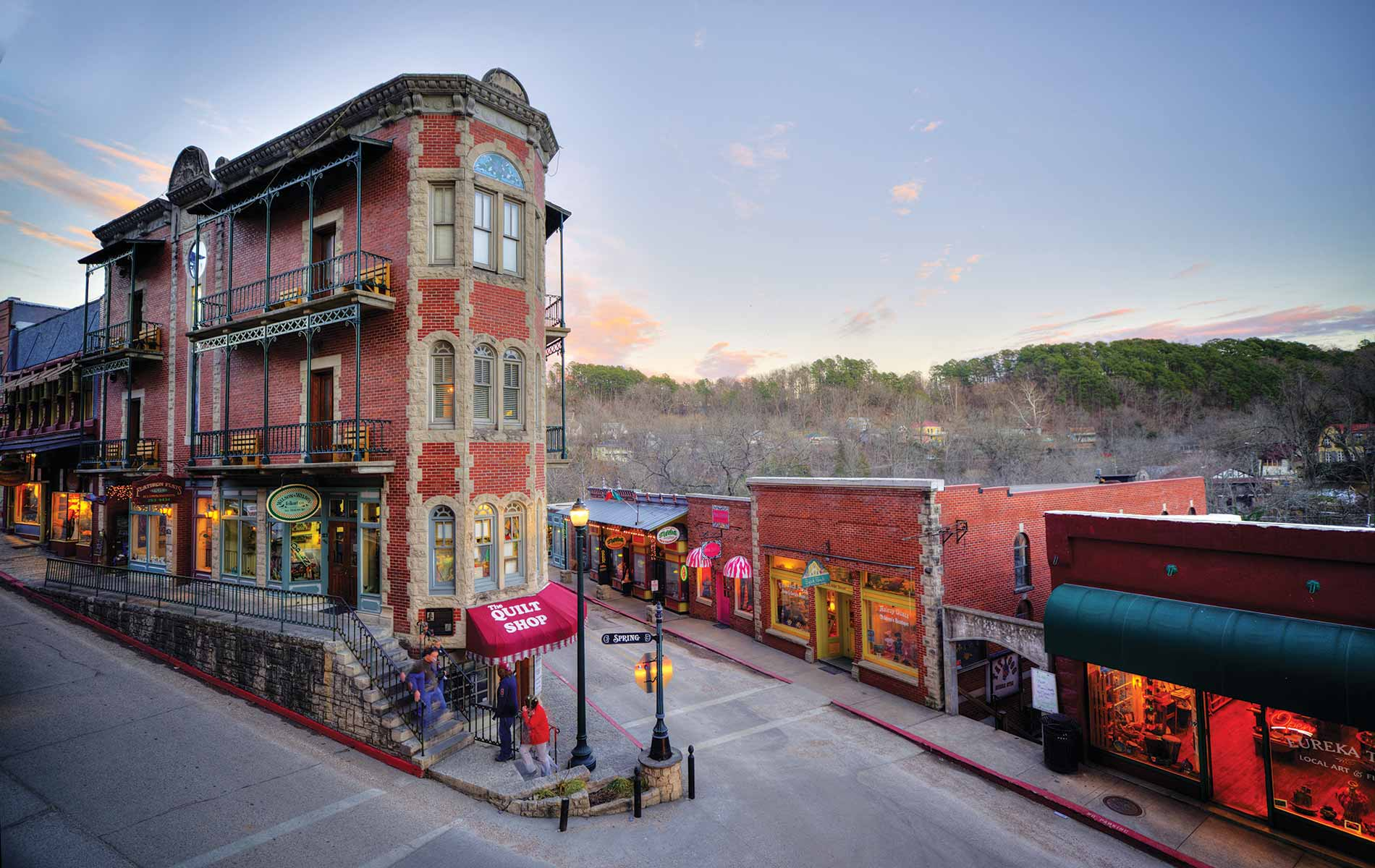 eureka springs Arkansas cover something in the water vie magazine