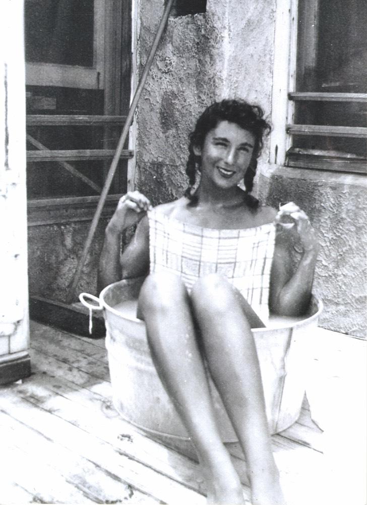 Ruth Burwell in Miramar Beach, Florida, in 1946 at 17 years of age vie magazine