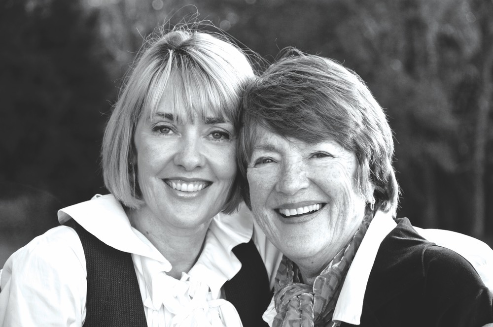 Lisa Burwell with mother, Marie Ryan vie magazine a tribute to mothers mother's day