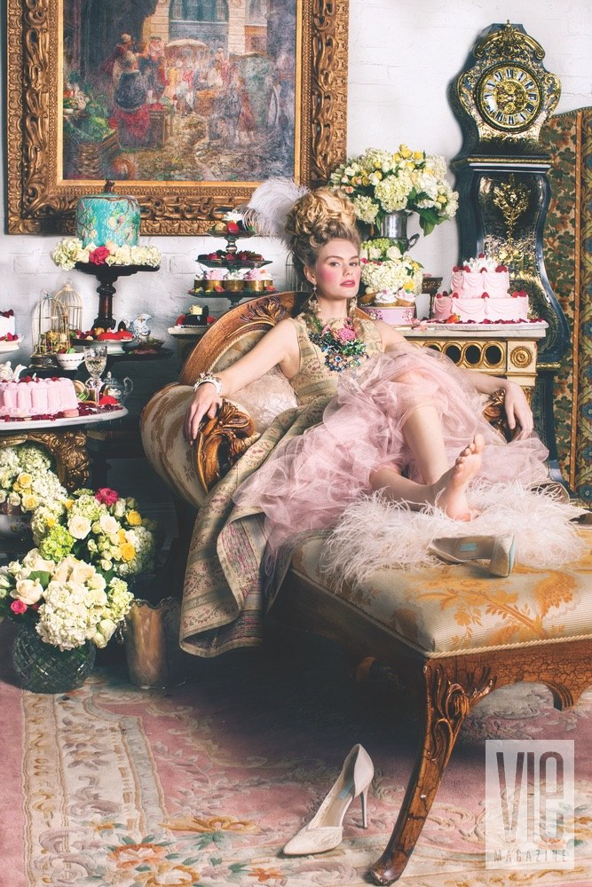 Miranda Abney Channels Marie Antoinette in the Let Them Eat Cake Photo Shoot