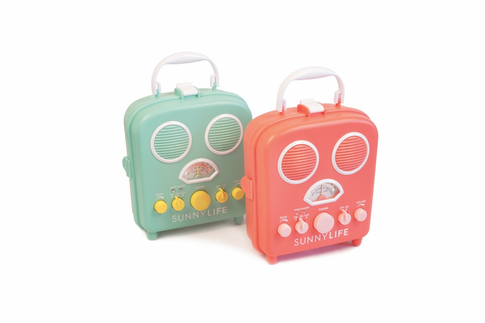 sunnylife beach sounds portable mp3 speaker and radio