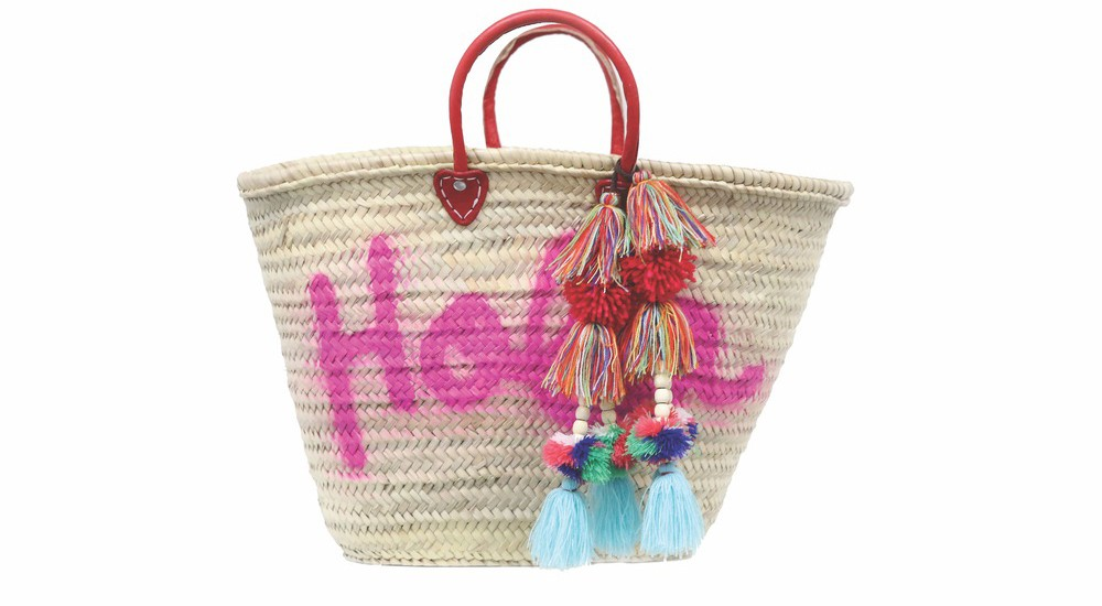 Marrakesh Bag—Hola Sold with Milla Pompom Cest La Vie Summer 2016