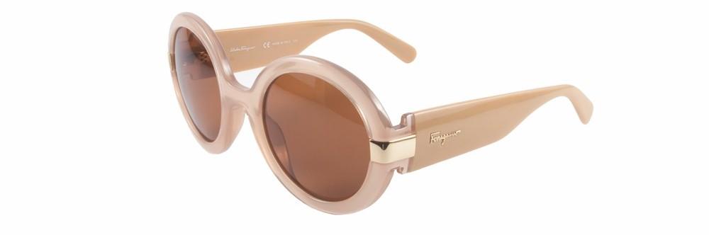 Salvatore Ferragamo Round Frame Acetate Sunglasses Cest La Vie Summer 2016