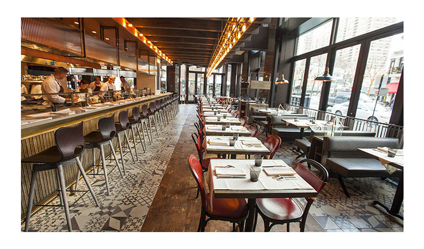 Interior of Chicago Based Restaurant Nico Osteria