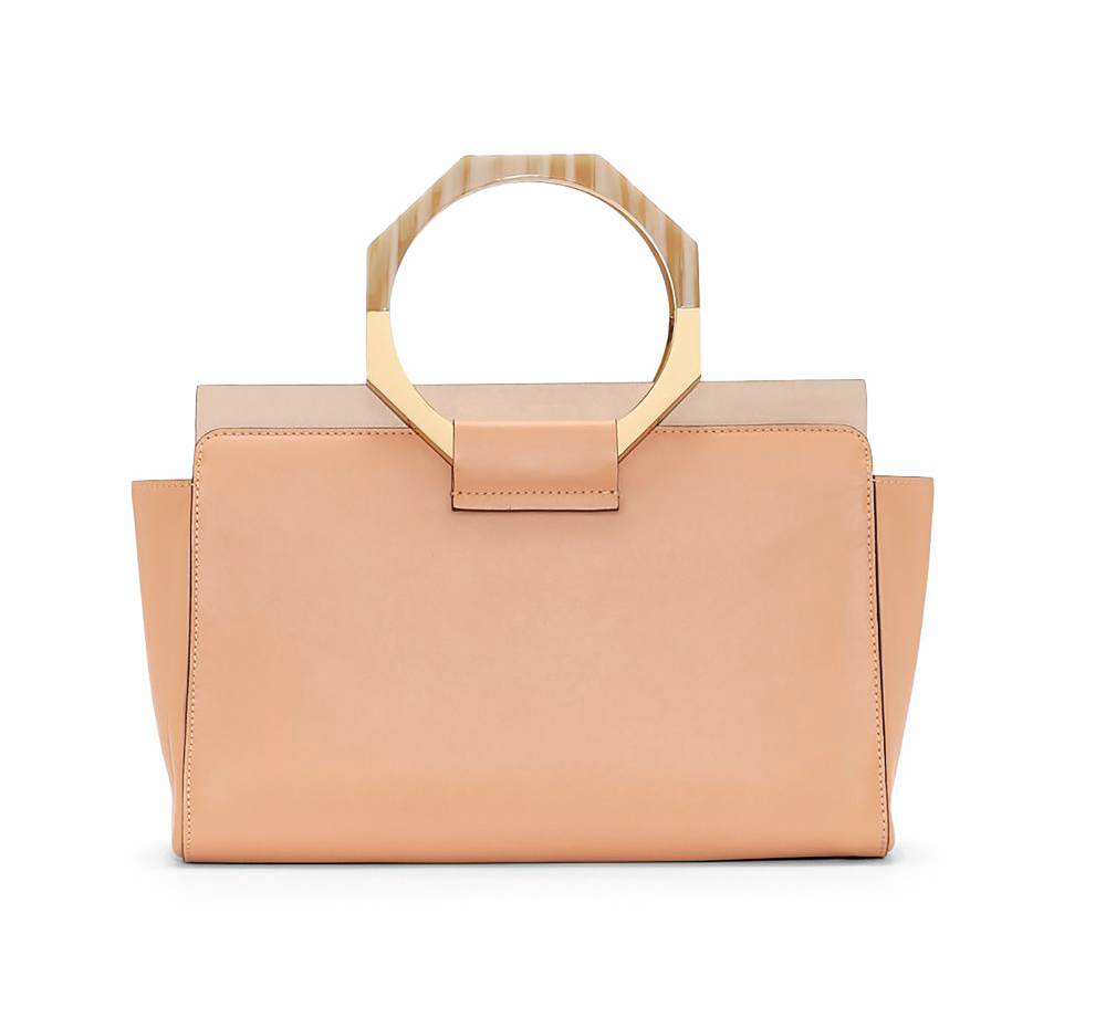 C'est La VIE Curated Collection A Minimalist Dream Louise et Cie 'Fae' Leather Satchel Lord and Taylor