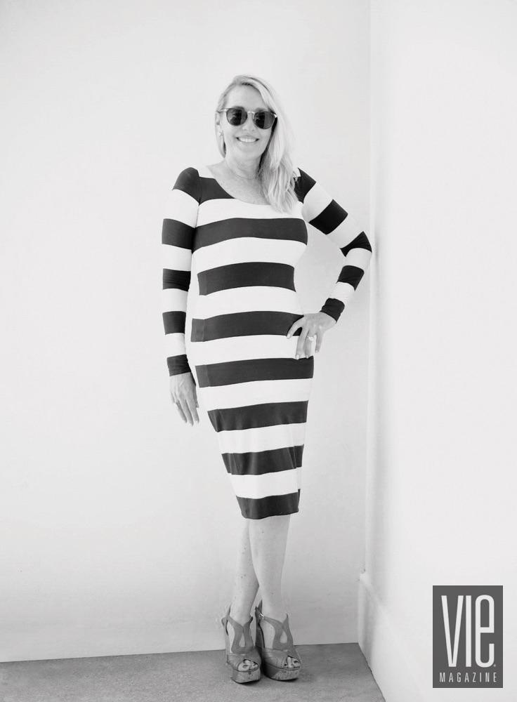 Editor In Chief of VIE Magazine Lisa Burwell The Modern Minimalist Issue July 2016