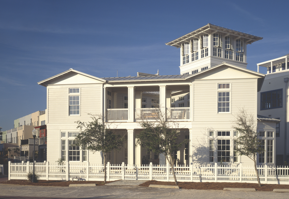 Walters-Buczko House, Seaside, Florida, 1997 Eric Watson Architecture Architect