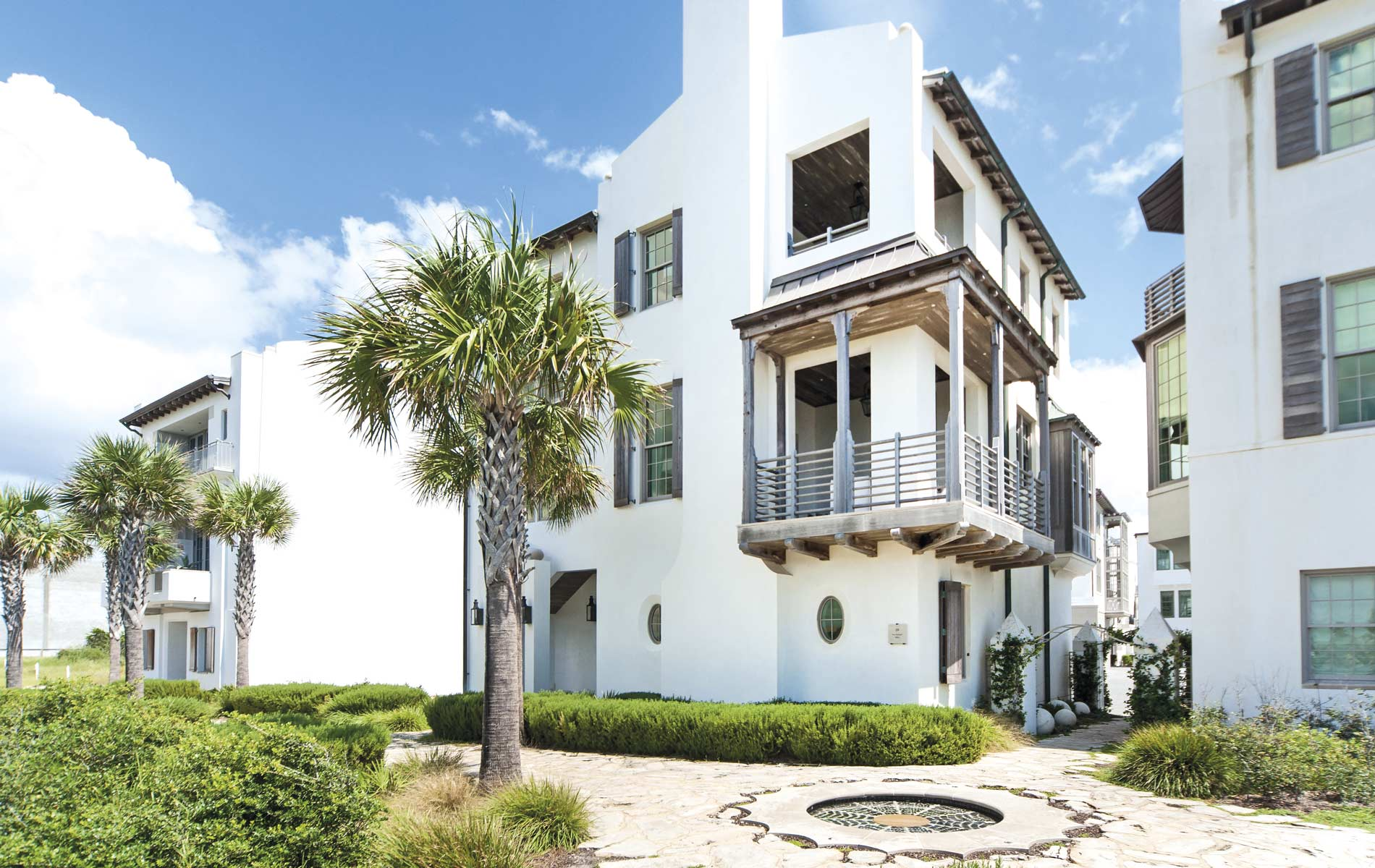 Erin Oden Coastal Luxury Exterior Beautiful Home