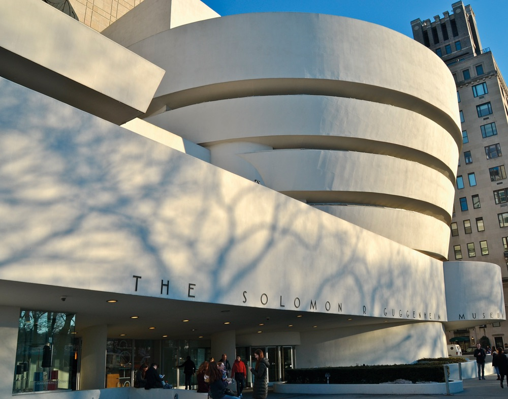 Guggenheim Museum New York Frank Lloyd Wright Architecture