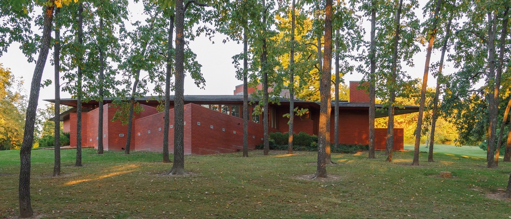 The Kraus House in Ebsworth Park Frank Lloyd Wright Architecture