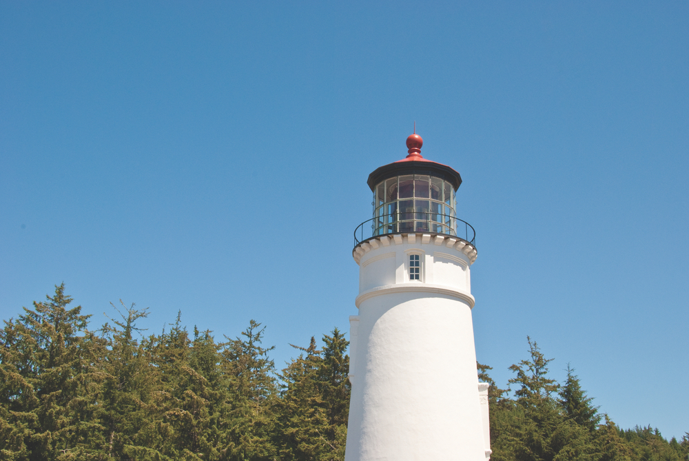 Umpqua River Light Reedsport, Oregon Hometown Architecture