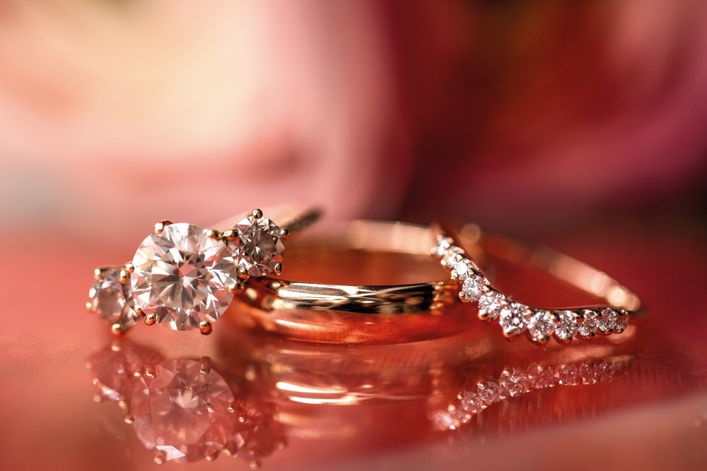 Wedding rings for an Indian Inspired Wedding
