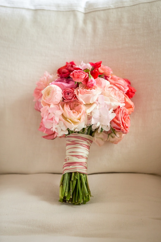 Floral bouquet Indian Inspired Wedding
