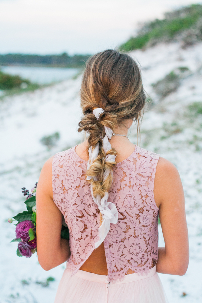 Pure7 Studios Styled Wedding Shoot style beach