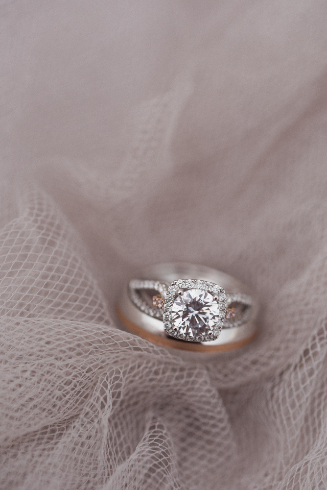 Pure7 Studios Styled Wedding Shoot engagement ring