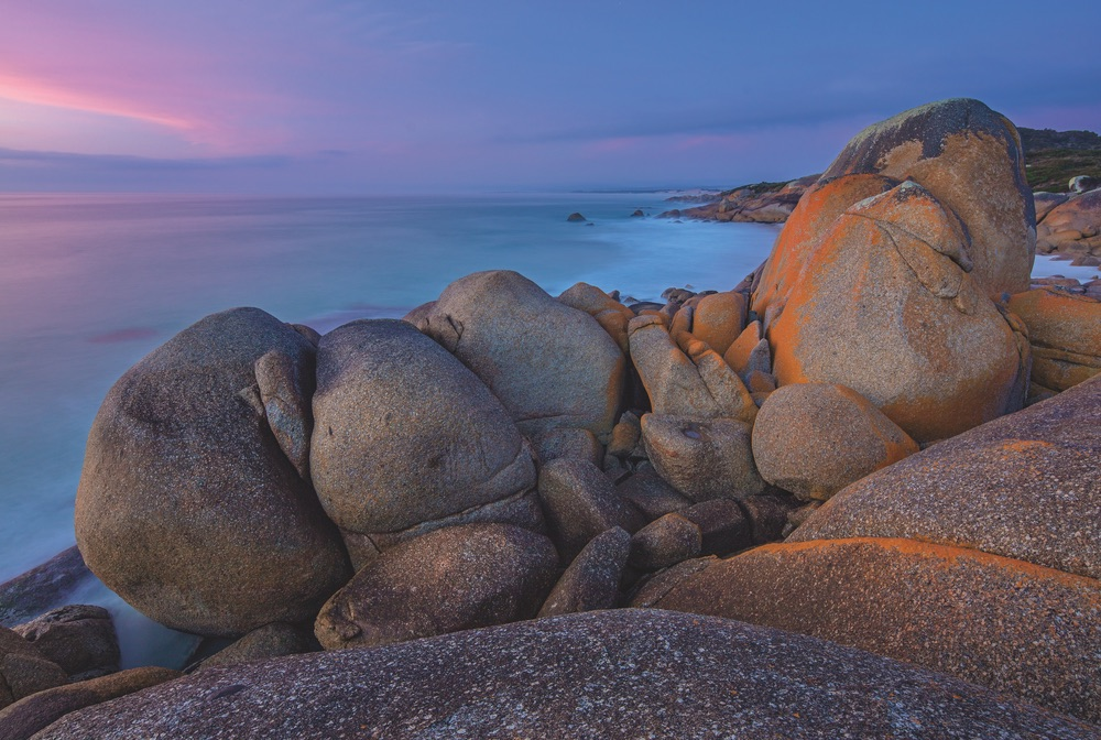Granite Shoreline Bay of Fires Tasmania