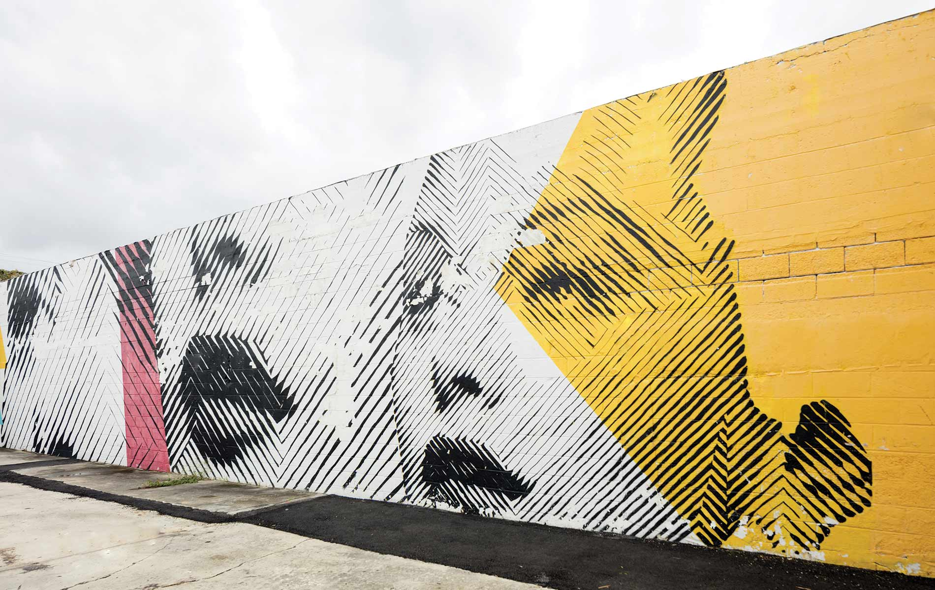 Wynwood Walls Miami Florida graffiti paint street art