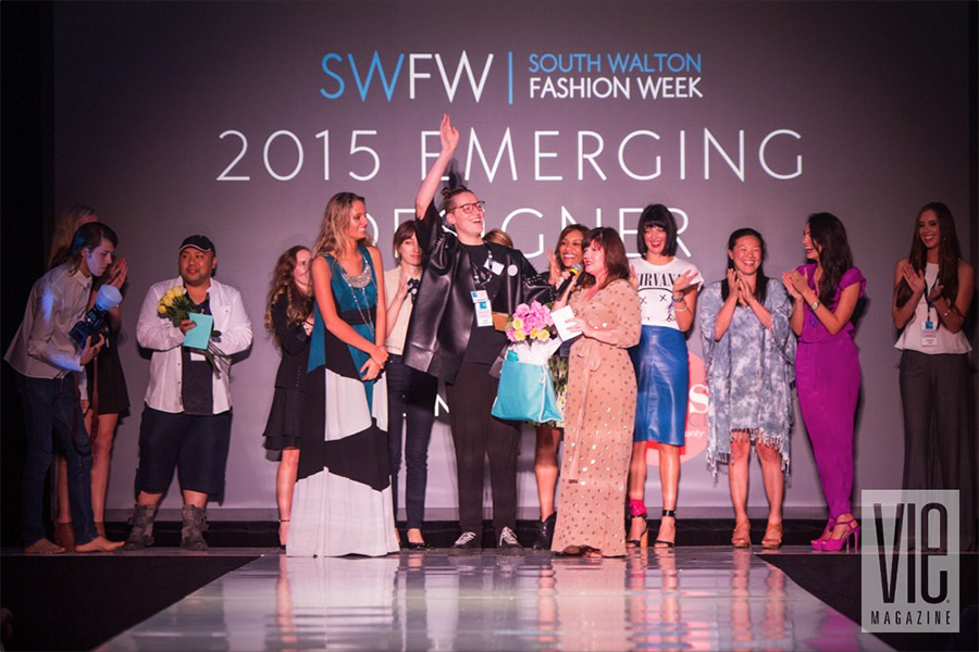 2015 South Walton Fashion Week Emerging Designer Winner Tieler James