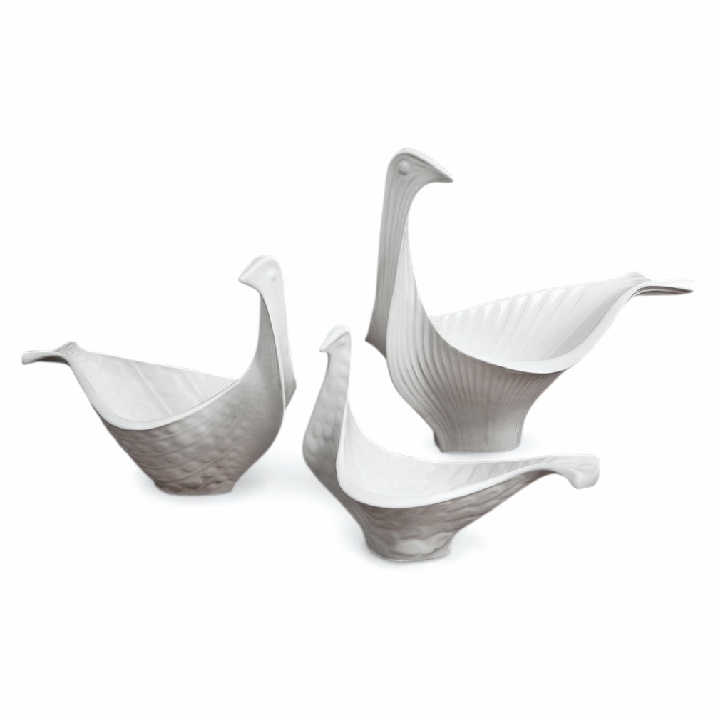 C'est La VIE Curated Collection Enchanted Garden Party Jonathan Adler Medium Bird Bowl
