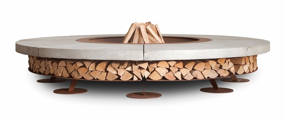 C'est La VIE Curated Collection Enchanted Garden Party Boxhill Hercules Fire Pit