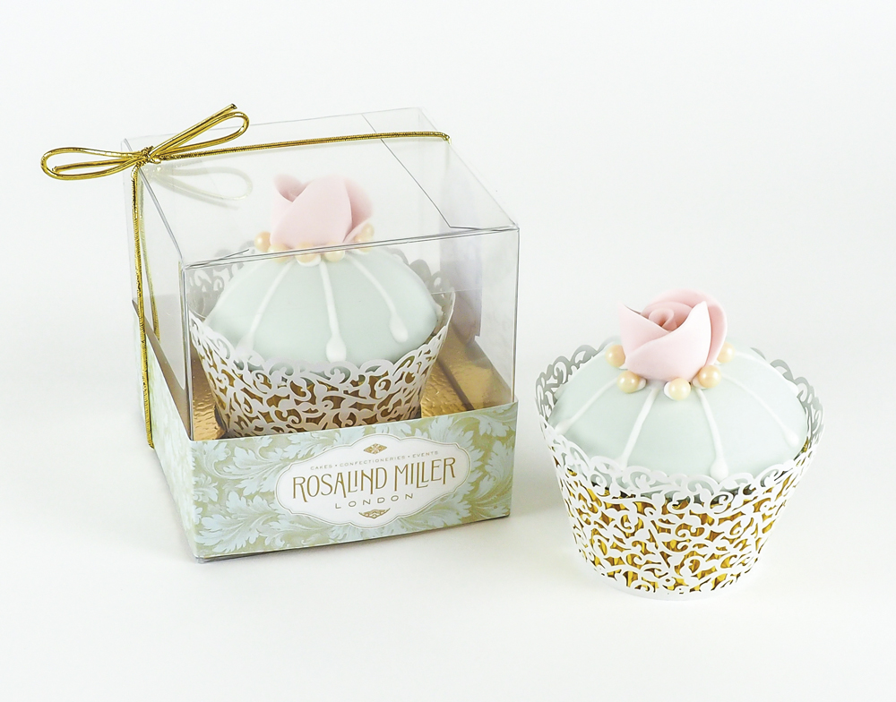 C'est La VIE Curated Collection Enchanted Garden Party Rosalind Miller Pink Floral Cupcakes