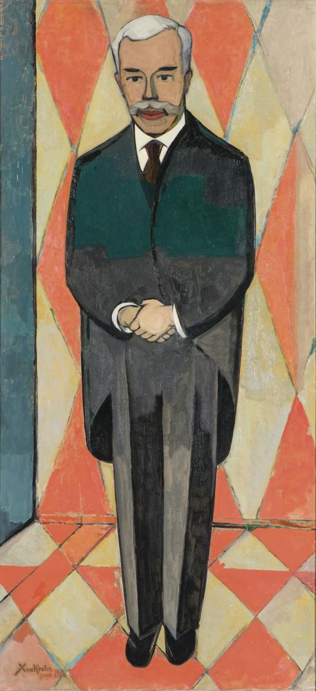 Christian Cornelius (Xan) Krohn, Portrait of Sergei Shchukin, 1916 © ADAGP, Paris 2016. Courtesy Hermitage Museum, Saint Petersburg Louis Vuitton Icons of Modern Art: The Shchukin Collection