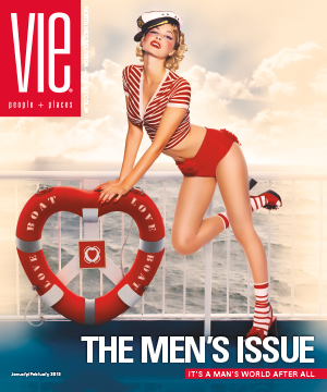 the men's issue january february 2013 vie magazine