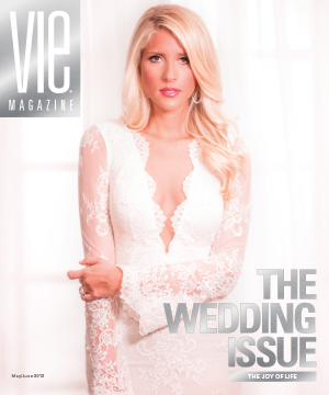 the wedding issue 2015 May June vie magazine