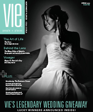 wedding giveaway vie magazine spring 2010