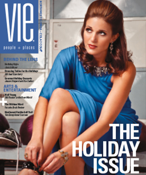 vie magazine the holiday issue 2010 Dec