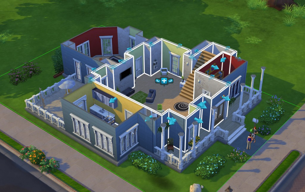 sims 4 build mode video games home design vie magazine - Sims 4 Home Design