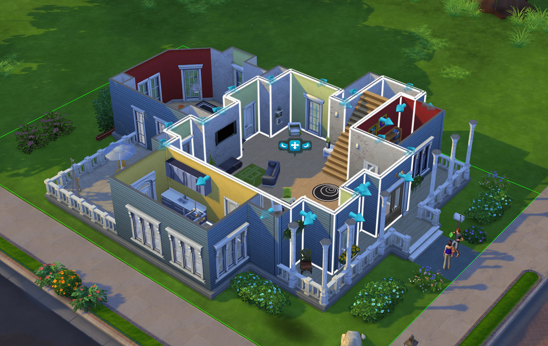 Sims 4 Build Mode Video Games Home Design VIE Magazine