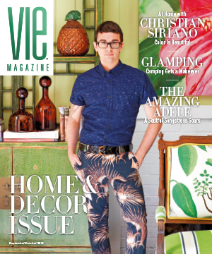 VIE Magazine Sept-Oct 2016 Issue feat Christian Siriano home