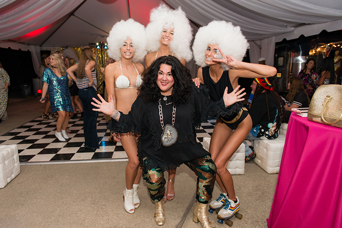 Ashley Longshore with Opehlia Swimwear Models at VIE SWFW The Get Down 2016