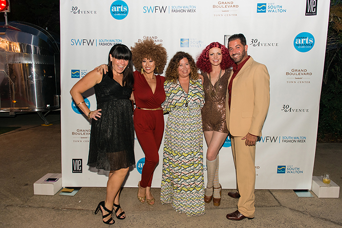 Guests Arriving at VIE Magazine's South Walton Fashion Week The Get Down 2016