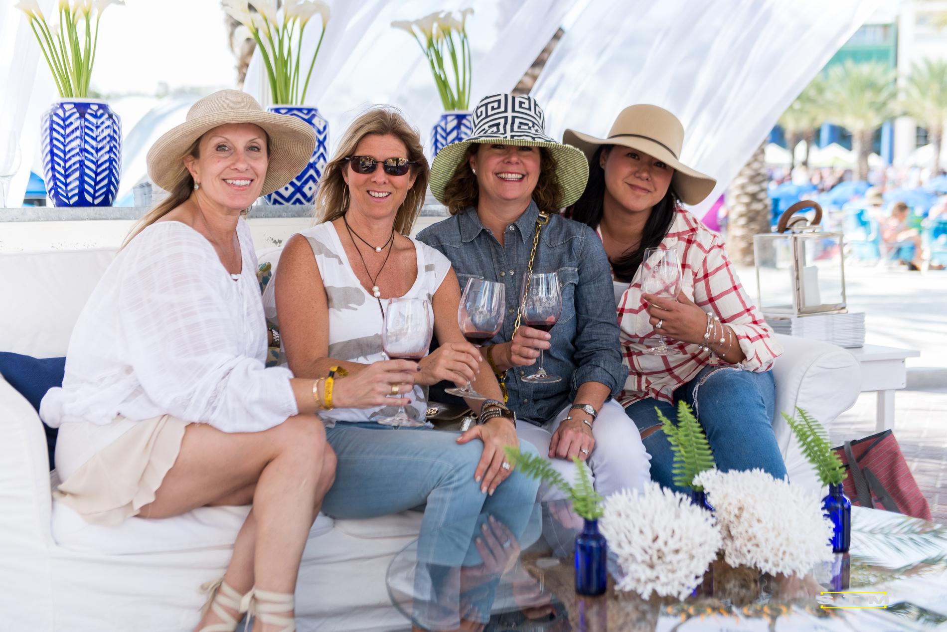 Seeing Red Wine Festival Seaside FL 2016 Guests