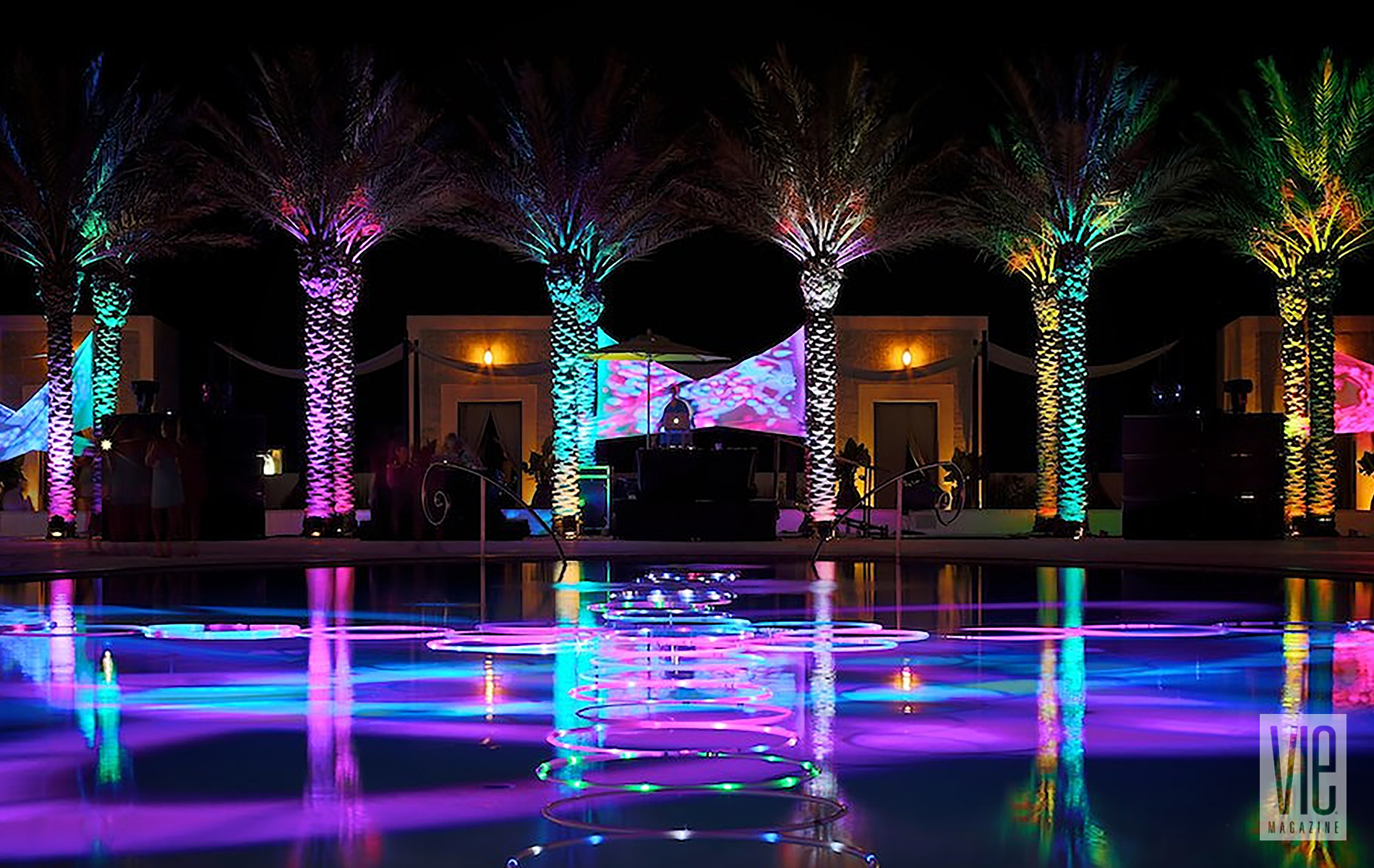 Digital Graffiti 2014 at Caliza Pool in Alys Beach Florida