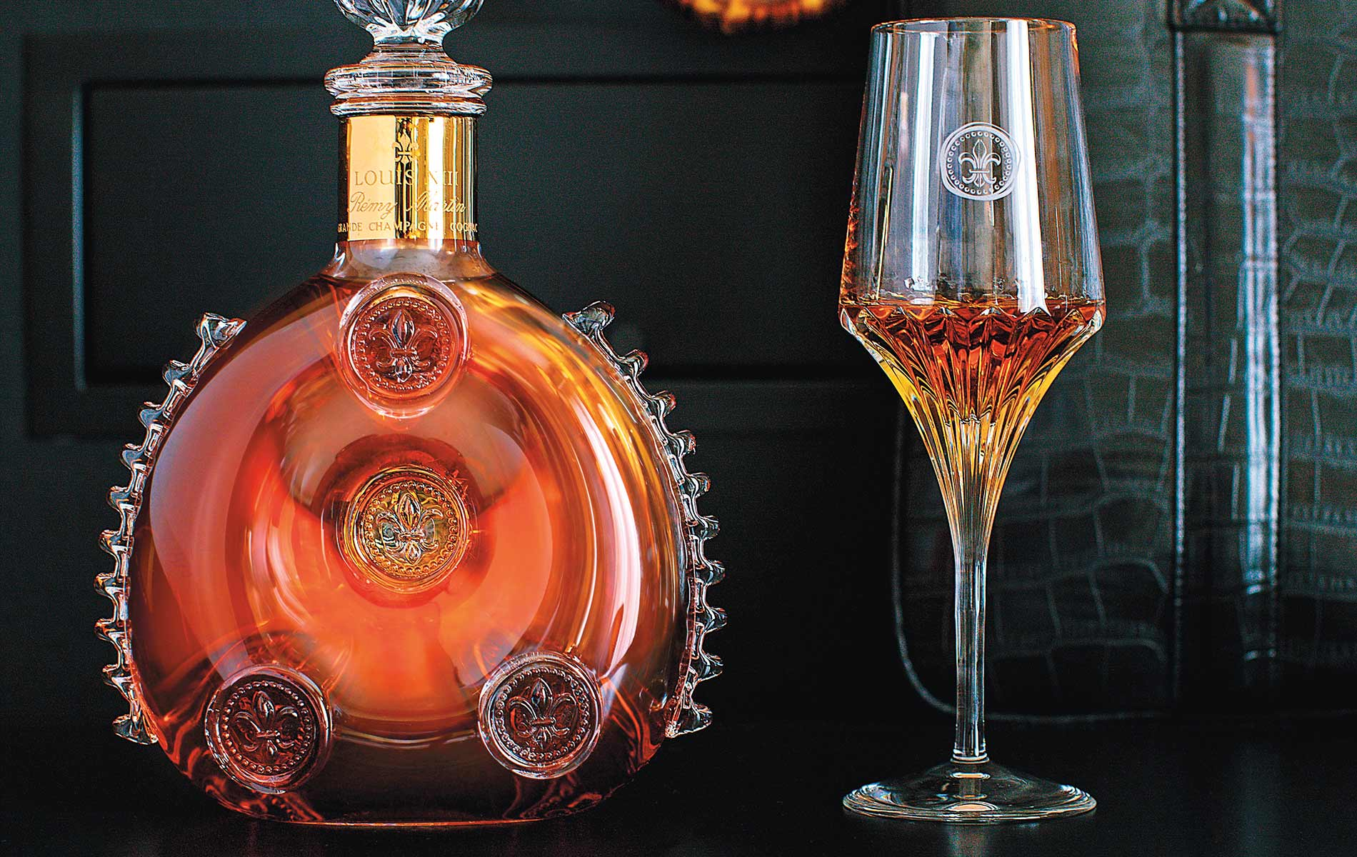 Beautiful Louis XIII decanter product shot Capt Andersons The Sophisticate Issue